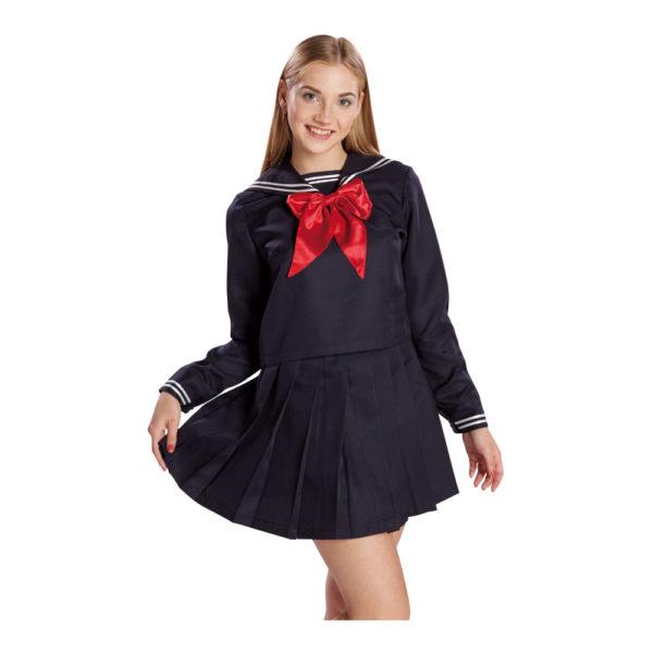 セーラー服長袖 ネイビー 01