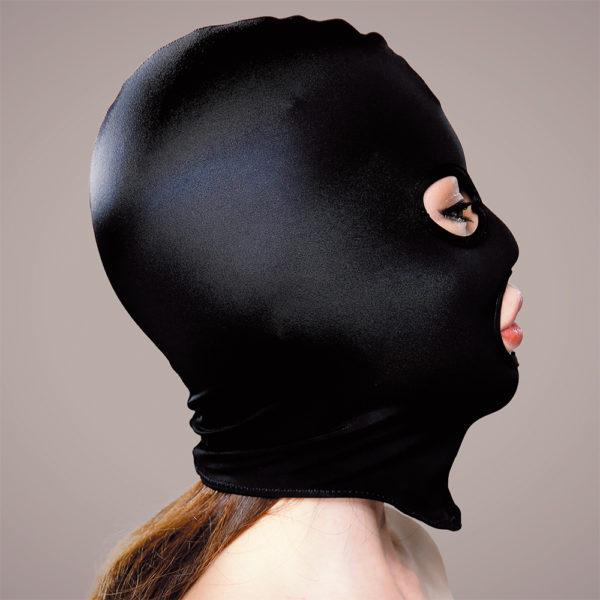 マイクロファイバー目口開きマスク